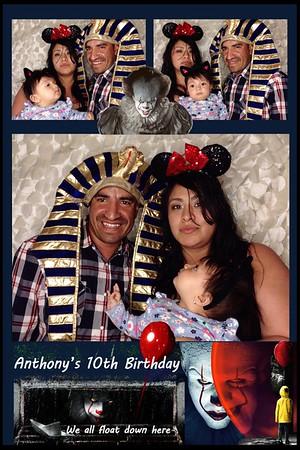 Anthony's 10th Birthday