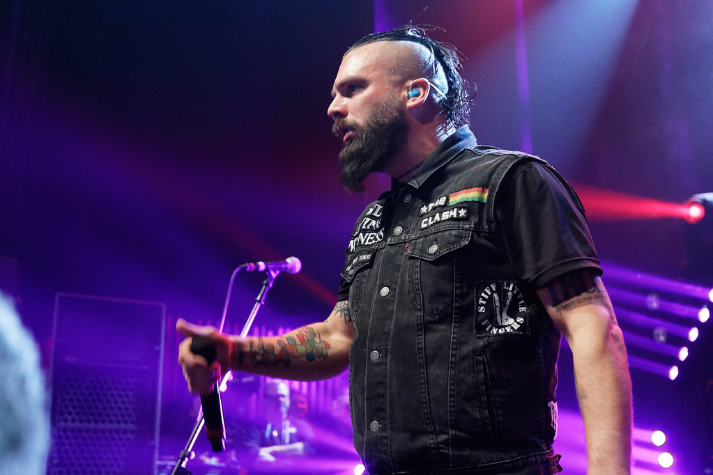 . Killswitch Engage live at Fillmore Detroit on 4-8-17.  Photo credit: Ken Settle