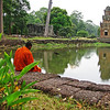 Angkor Wat evokes much reflection<br /> Siem Reap, Cambodia