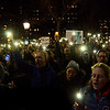New York, New York - January 25, 2017: Anti-Trump Emergency Rally for Muslim and Immigrant Rights in Washington Square Park on January 25, 2017 in Manhattan, New York. Photo by Lukas Maverick Greyson © 2017 LMG