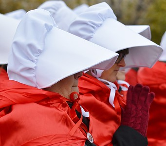 Pence Handmaids Protest (32)