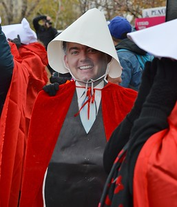Pence Handmaids Protest (52)