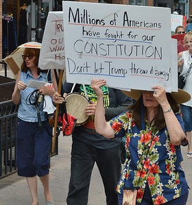 impeach Trump march - Ft Collins (10)