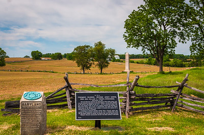 Maryland and Connecticut Monuments, Antietam National Battlefield, Maryland
