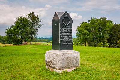 5th Maryland Volunteers Monument, Antietam National Batlefield, Maryland