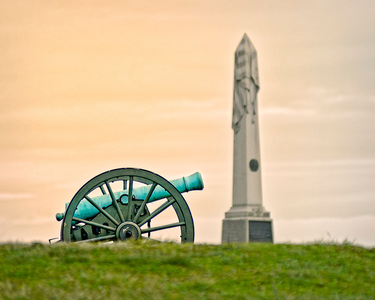 Cannon & Memorial Obelisk