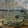 Cannon on Little Round Top.
