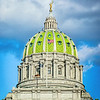 Capitol Building of Harrisburg, PA.