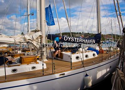 SPIRIT OF OYSTERHAVEN Under Sail