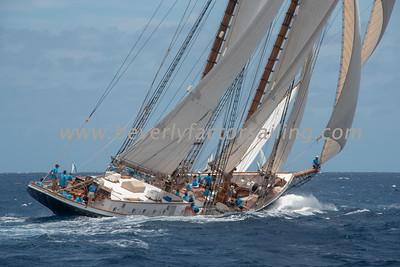 COLUMBIA Under Sail