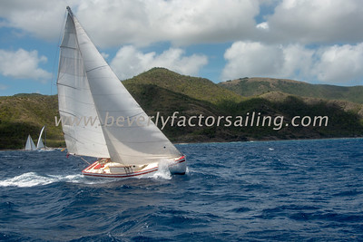 ZEMI under sail