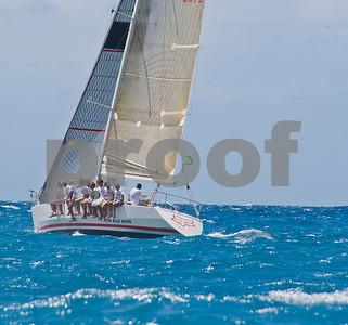 Power Team Racing-Caymen Crew_Day 4_Venus-Antigua Race Week 2011_Factor_6675