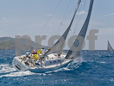 Power Team Racing-Caymen Crew_Day 4_Venus-Antigua Race Week 2011_Factor_6648