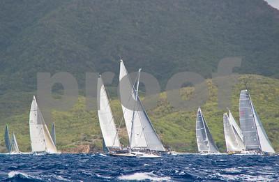 Power Team Racing-Caymen Crew_Day 4_Venus-Antigua Race Week 2011_Factor_6623