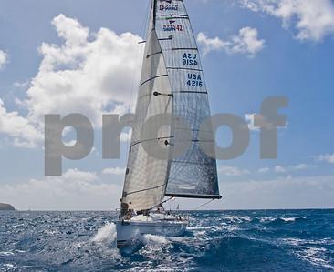 Power Team Racing-Caymen Crew_Day 4_Venus-Antigua Race Week 2011_Factor_6582