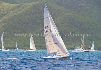 Power Team Racing-Caymen Crew_Day 4_Venus-Antigua Race Week 2011_Factor_6641