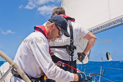 Power Team Racing-Caymen Crew_Day 4_Venus-Antigua Race Week 2011_Factor_6805
