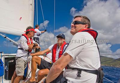 Power Team Racing-Caymen Crew_Day 4_Venus-Antigua Race Week 2011_Factor_6584