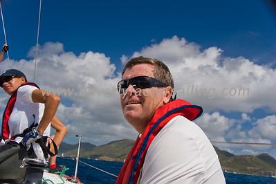 Power Team Racing-Caymen Crew_Day 4_Venus-Antigua Race Week 2011_Factor_6577