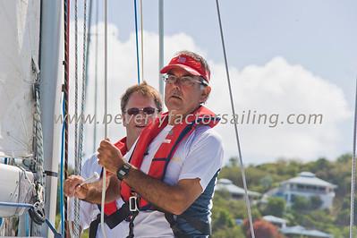 Power Team Racing-Caymen Crew_Day 4_Venus-Antigua Race Week 2011_Factor_6570