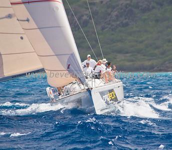 Power Team Racing-Caymen Crew_Day 4_Venus-Antigua Race Week 2011_Factor_6644
