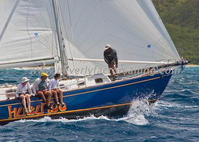 Antigua Race Week 2011; Day 3;