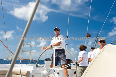 Antigua Race Week 2012 Race 1- SOJANA CREW ACTION