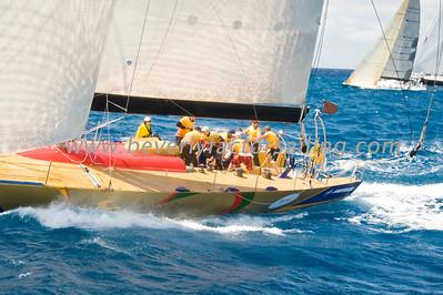 Antigua Race Week 2012 Race 3 Sojana_1374