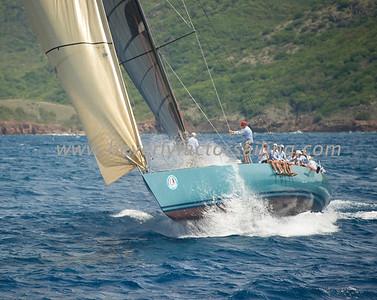 Antigua Race Week 2012 Race 3 Sojana_1353