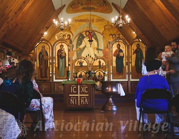 Baptism of Elias and Ordination of Dn. Marek