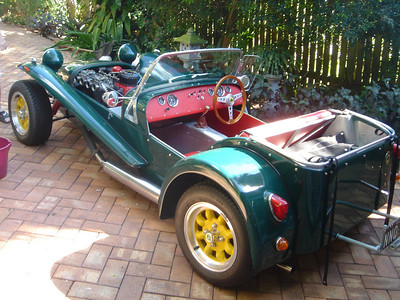 Lotus Seven belonging to Gregg Gabb, Brisbane Australia, 2006