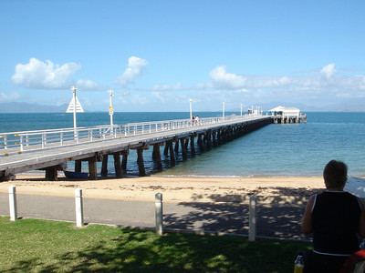 Dock at Magnetic Island, off Townsville, Queensland Australia 2005