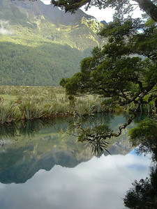 Mirror Lake, South Island, New Zealand, Christmas 2005