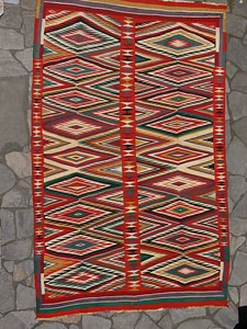 Large Germantown Navajo Weaving, Circa 1890s