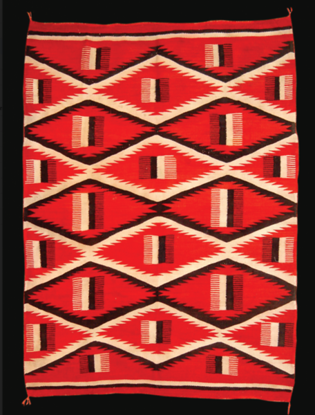 Early-20th Century Navajo Rug