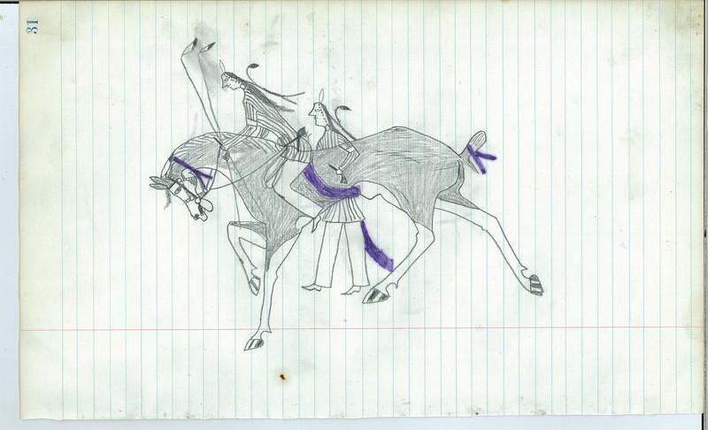 Ledger drawing