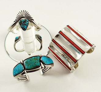 Selection of Fine Native American Jewelry