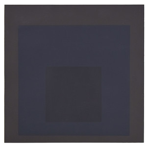 Josef Albers (1888-1976) - Profund, from Homage to the Square. Soft-Edge-Hard-Edge