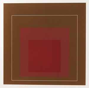 "Josef Albers (1888-1976) - White Line Square IV from the Series ""White Line"""