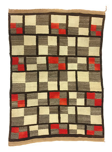 Navajo Broadway Boogie Woogie Abstract Rug
