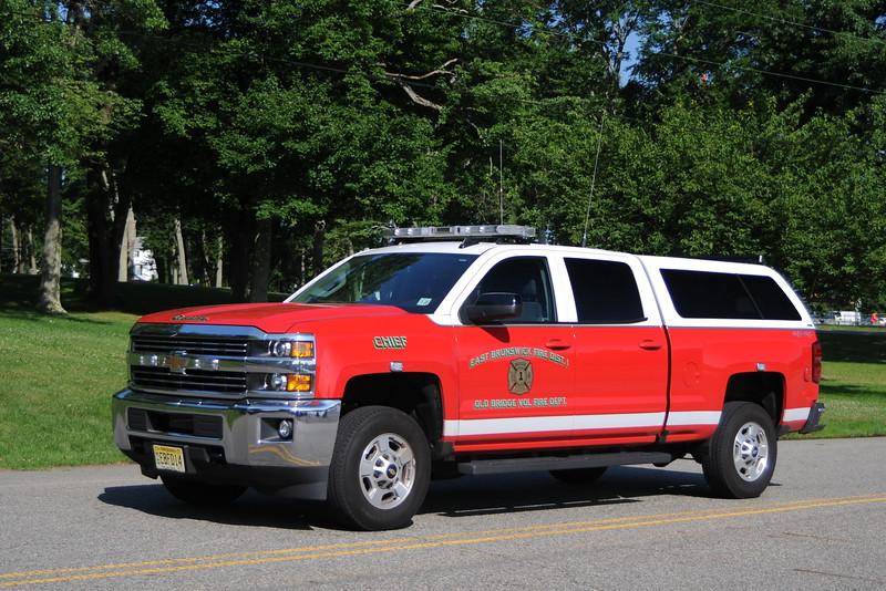 Old Bridge, NJ (East Brunwsick Fire District #1) Chief<br /> 2017 Chevrolet Silverado