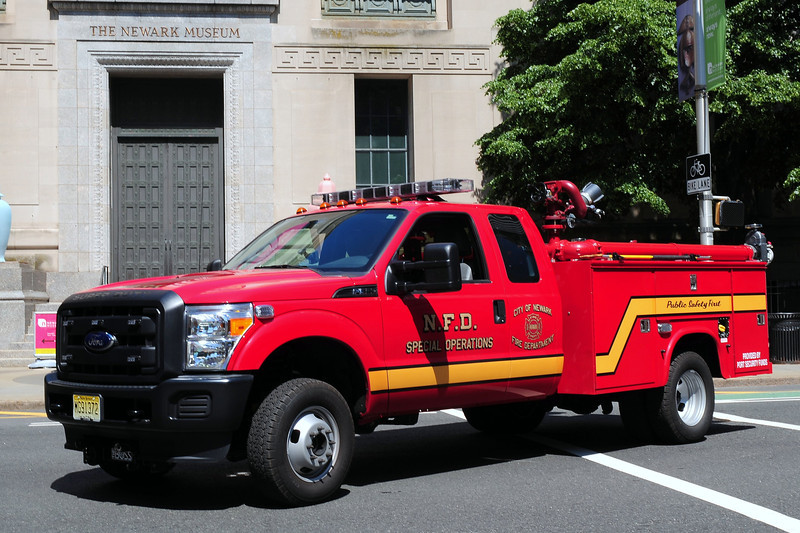 City of  Newark  Fire  Dept   Special  Operations   Unit  2012  Ford  F-550