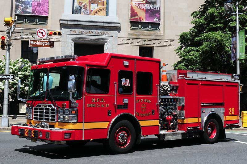 City of  Newark Fire  Dept   Engine  29   2011 Ferrera Ember  1500 / 750