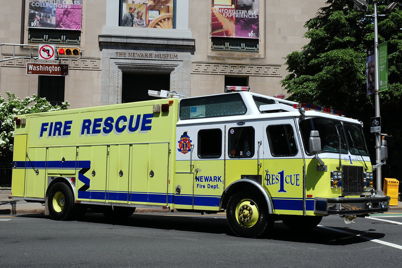 City of  Newark  Fire  Dept    Rescue  1   1994  Emergency-One