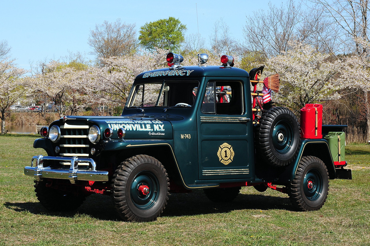 Unionville  Fire  Co  Unionville, NY    M-743   1952  Willy's Jeep   250/ 100