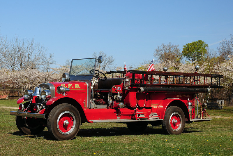 Colesville  Fire  Co   Wantage, Nj   1929  Pirsch  800 GPM
