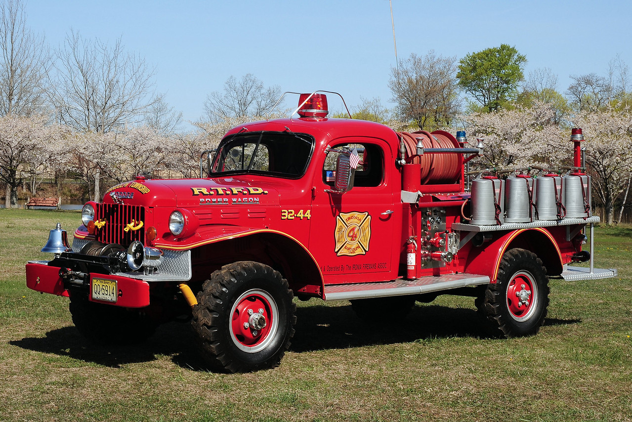 Ironia  Fire  Co  3 4  Randolph Twp, Nj  1964  Dodge Power Wagon    250/ 300