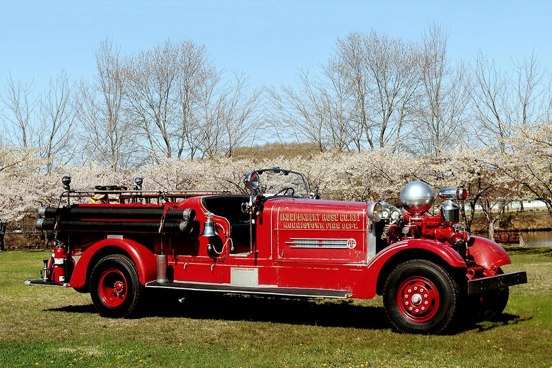 Morristown  Fire  Dept    1947  Atherns Fox  HT  1000/ 500