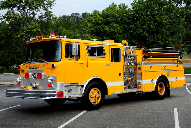 Ex- JIM THORPE, PA - 1977 MACK CF600/ 90KME 1000GPM NOW OWNED BY KEITH KEMERY OF WILLIAMSTOWN, NJ
