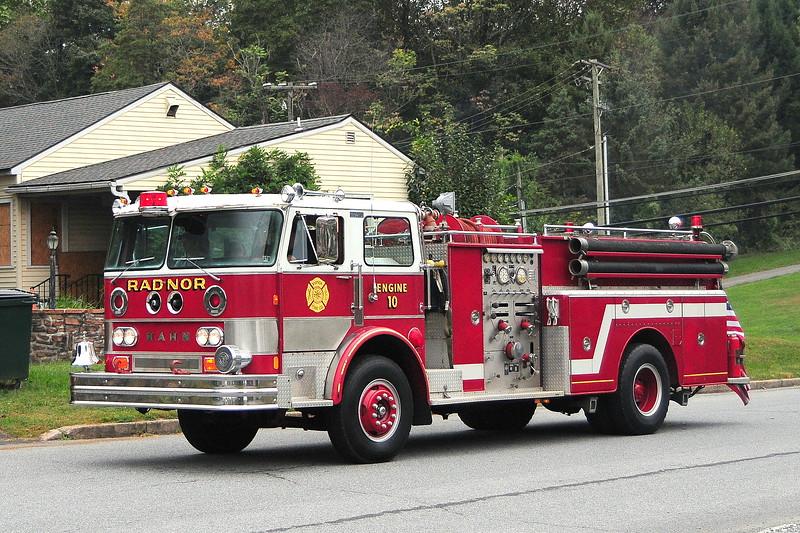 Radnor Fire Dept  Radnor , Pa
